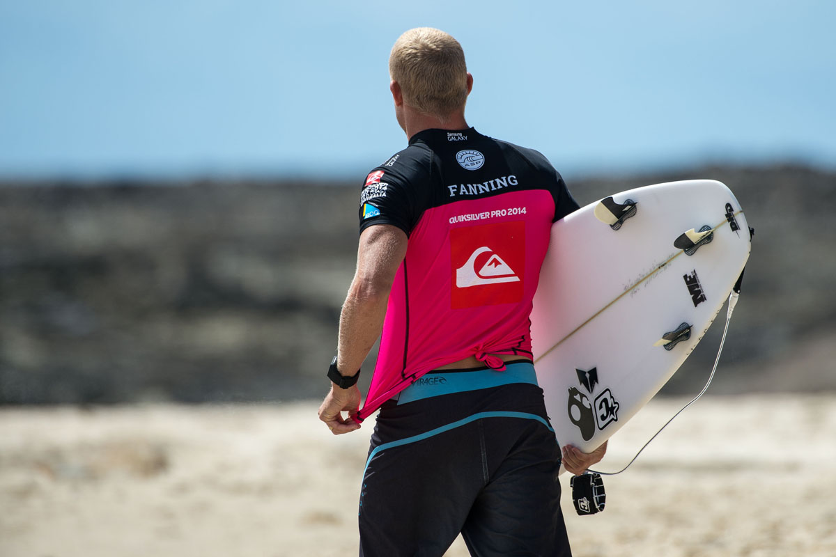 Mick Fanning. Photo courtesy of FCS.